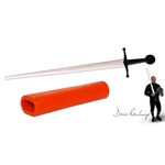 Synthetic Single Hand Grip-Red PR3024