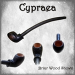 Cyprea Old World Pipe,Cyprea Pipe,Renaissance Churchwarden,Olde World Pipe