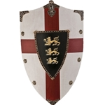 Richard the Lionheart Wooden Shield AG872
