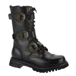 Men's Steampunk 12 Eyelet Boots 34-1100