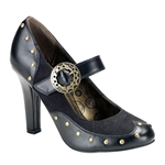 Tesla Steampunk Mary Jane Pumps 34-3144