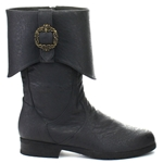 Caribbean Black Pirate Boots 34-4361