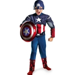 The Avengers Captain America Classic Muscle Chest Child Costume 38-802407