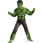 The Avengers Hulk Classic Muscle Chest Child Costume 38-802410