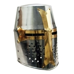 Brass Crusader Great Helmet 40-910902