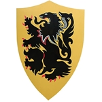 Rampant Lion Shield