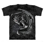 Bravery Misplaced Adult Dragon T-Shirt 43-1012011