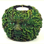 Greenman Tealight Holder 45-CHT078