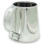 Tin Drinking Tankard