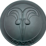 Conan the Barbarian Round Buckler Shield by Marto