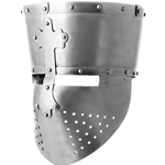 Crusader Flat Top Helmet 16Ga Large 58-0035