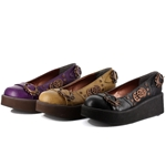 Steampunk Platform Slip-On Shoes 60-1014