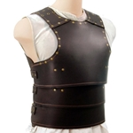 Basic Leather Armour - Breastplate N Backplate Set - Brown