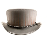 Leather Barnum Hat