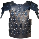 Short Leather Breastplate with Pauldrons Armour 65-11-57