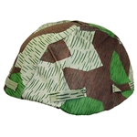 German Army - Luft Splinter Camo Helmet Cover WWII Repro 69-029326