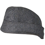 German M40 Luftwaffe Overseas Side Cap - EM Enlisted - Repro