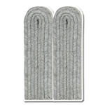 German Officer Shoulder Boards - Army-Luft - Lt. - Capt. - White