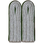 German Officer Shoulder Boards - Army - Lt. - Capt. - Light Green