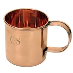 Solid Copper CS Soup Mug 730020