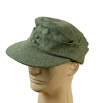 German WWII M43 Field Cap Reproduction