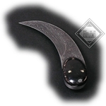 Damascus Tiger Claw Knife AH-3613-D