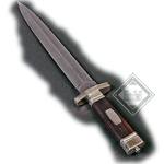 Damascus Knife Large AH-3621-L