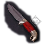 Damascus Knife Cobra Head Grip AH-3659