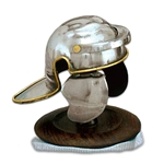 Mini Roman Trooper Helmet with Stand