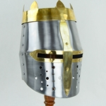 Royal Crowned Great Helm - 20 Gauge