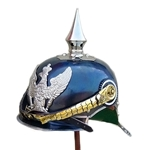 PickelHaube Helmet With Silver Rim AH-6038