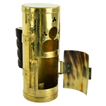 Roman Brass and Horn Lantern