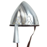 Early Crusader Trefoil Nasal Helmet AH-6736
