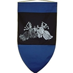 Medieval Tournament Knights Banner BP-24