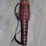 Small Leather Archery Quiver