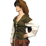 Peasant Lass Outfit - Four Piece Set CO-3004