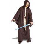 Jedi Deluxe Hooded Robe Costume CU56089