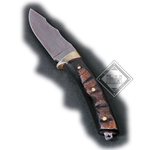 Damascus Knife Wooden Grip DB-2110