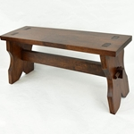 Medieval Wooden Bench,Medieval Bench,Wooden Medieval Bench,Medieval Camp Bench,Portable Medieval Bench