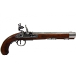 Deluxe Kentucky Flintlock Pistol Grey - Non-Firing Replica,Kentucky Flintlock Pistol Grey - Non-Firing Replica
