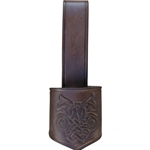 Leather Drinking Horn Carrier GH0010