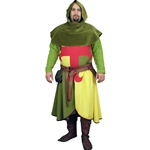 Medieval Foot Soldier Set - Arming Jacket, Surcoat and Hood