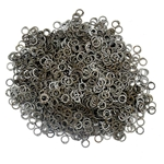 Loose Chainmail Rings - Flat Ring Dome Riveted 9mm - Mild Steel