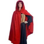 Traditional Red Irish Cape Wool Blend