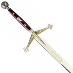 Marto Scottish Sword Claymore Gold and Silver
