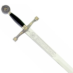 Marto Excalibur Sword Silver and Gold