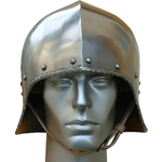 Open Face German Sallet Helm MD-301