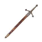Scottish Claymore Letter Opener with Scabbard MDF3047