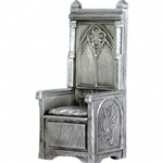 King Arthurs Throne Pewter Sculpture METR002