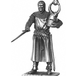Sir Sagremor and Chair Pewter Sculpture METR005